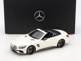 Mercedes-Benz AMG SL 63 diamant weiß 1:18 GT-SPIRIT