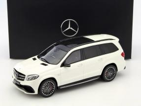 Mercedes-Benz AMG GLS 63 diamant weiß 1:18 GT-SPIRIT