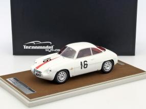 Alfa Romeo Giulietta SZ #16 Monza Coppa Intereuropa 1960 Kim 1:18 Tecnomodel