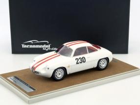 Alfa Romeo Giulietta SZ #230 Friburgo Schauinsland 1962 Fishbaber 1:18 Tecnomodel