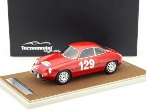 Alfa Romeo Giulietta SZ #129 Tour de France 1960 Lagenneste, Gredes 1:18 Tecnomodel