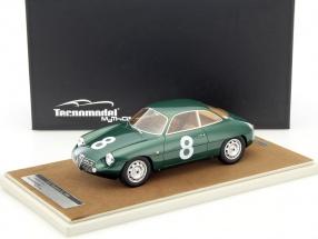 Alfa Romeo Giulietta SZ #8 Targa Florio 1961 Priolo, Manfredini 1:18 Tecnomodel