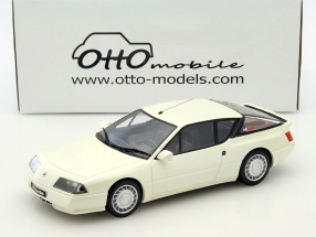 Alpine GTA V6 Turbo Baujahr 1985 weiß 1:18 OttOmobile