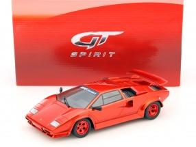 Koenig Specials Lamborghini Countach Turbo Baujahr 1983 rot 1:18 GT-SPIRIT