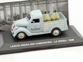 Lancia Ardea 800 Camioncino La Versa Baujahr 1949 graublau 1:43 Altaya