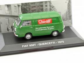 Fiat 850T Quercetti Baujahr 1975 grün 1:43 Altaya