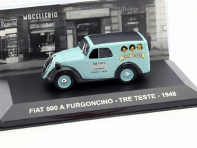 Fiat 500 A Furgoncino Tre Teste Baujahr 1948 türkis 1:43 Altaya