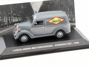Lancia Ardea 800 Furgoncino Sobrero Est Baujahr 1948 grau 1:43 Altaya