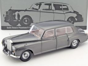 Rolls Royce Phantom V Limousine LHD Baujahr 1964 grau 1:18 Paragon Models