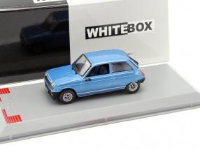 Renault 5 Alpine Baujahr 1976 blau 1:43 WhiteBox