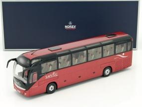 Irisbus Magelys Savac Baujahr 2007 rot / schwarz 1:43 Norev