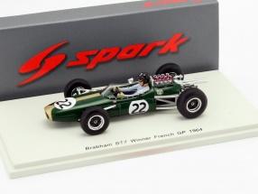 Dan Gurney Brabham BT7 #22 Winner Frankreich GP Formel 1 1964 1:43 Spark