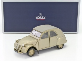 Citroen 2CV A Baujahr 1950 matt gold 1:18 Norev