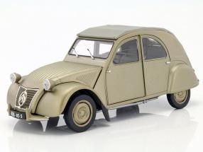 Citroen 2CV A year 1950 mat gold 1:18 Norev