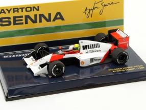 Ayrton Senna McLaren MP4/5 #1 Formel 1 1989 1:43 Minichamps