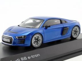 Audi R8 e-tron blau metallic 1:43 Spark