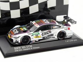BMW M4 DTM (F82) #23 DTM Champion 2014 Marco Wittmann 1:43 Minichamps