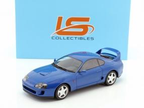 Toyota Supra Baujahr 1994 blau 1:18 LS Collectibles