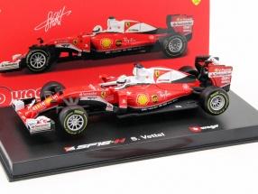 Sebastian Vettel Ferrari SF16-H #5 Formel 1 2016 Ray-Ban 1:43 Bburago