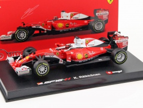 Kimi Räikkönen Ferrari SF16-H #7 Formel 1 2016 Ray Ban 1:43 Bburago