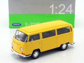 Volkswagen VW T2 Bus Baujahr 1972 gelb 1:24 Welly
