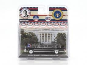 Lincoln Continental Baujahr 1972 R. Reagan schwarz Version 2 1:43 Greenlight
