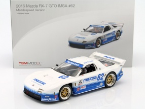 Mazda RX-7 GTO #62 IMSA 2015 Mazda Speed Version 1:18 TrueScale