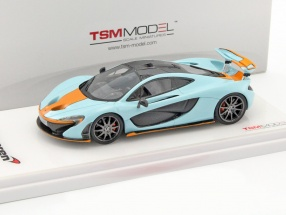 McLaren P1 Baujahr 2014 Gulf Version blau / orange 1:43 TrueScale