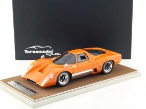 McLaren M6 GT Baujahr 1969 orange 1:18 Tecnomodel