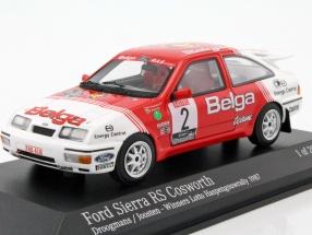 Ford Sierra RS Cosworth #2 Winner Haspengouw Rally 1987 Droogmans, Joosten 1:43 Minichamps