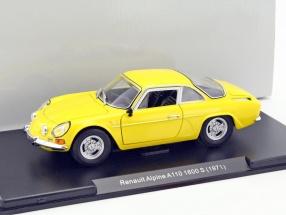 Renault Alpine A110 1600 S Baujahr 1971 gelb 1:24 Leo Models