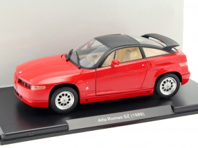 Alfa Romeo SZ Baujahr 1989 rot 1:24 Leo Models