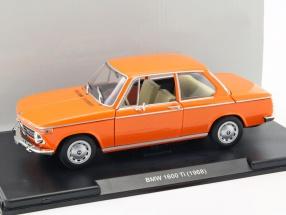 BMW 1600 Ti Baujahr 1968 orange 1:24 Leo Models