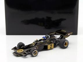 Ronnie Peterson Lotus 72E #2 Formel 1 1973 mit Fahrerfigur 1:18 AUTOart