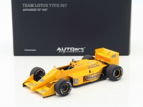 Ayrton Senna Lotus 99T #12 2nd Japan GP Formel 1 1987 1:18 AUTOart