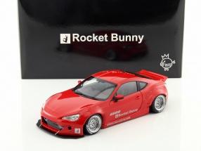 Rocket Bunny Toyota 86 rot / silber 1:18 AUTOart