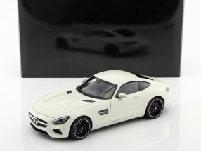 Mercedes-Benz AMG GT S year 2015 white 1:18 AUTOart