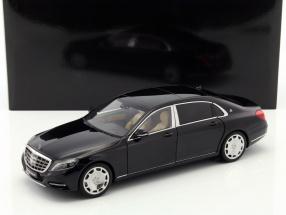 Mercedes-Benz Maybach S-Class (S600) SWB year 2015 black 1:18 AUTOart