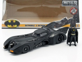 Batmobile with Batman figure Movie Batman 1989 1:24 Jada Toys