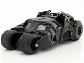 Batmobile with Batman figure Movie The Dark Knight 2008 1:24 Jada Toys