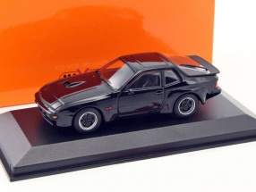 Porsche 924 GT year 1981 black 1:43 Minichamps