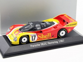Porsche 962 C #17 Norisring 1987 Hans-Joachim Stuck 1:43 Minichamps