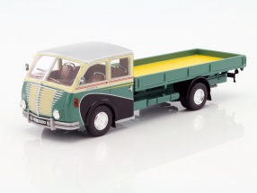 Saurer 3C-H Lkw Bachmann green / beige / silver 1:43 Schuco