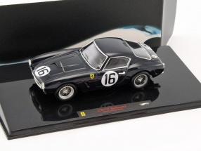Ferrari 250 GT Berlinetta SWB #16 1960 schwarz 1:43 HotWheels Elite