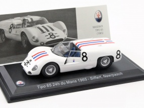 Maserati Tipo 65 #8 24h LeMans 1965 Siffert, Neerpasch 1:43 Leo Models