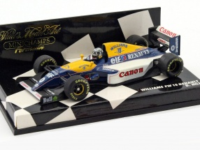 Damon Hill Williams FW15 #0 Formel 1 1993 1:43 Minichamps