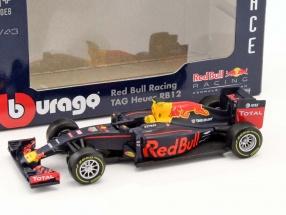 Max Verstappen Red Bull RB12 #33 Formel 1 2016 1:43 Bburago