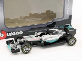 Lewis Hamilton Mercedes F1 W07 Hybrid #44 Formel 1 2016 1:43 Bburago