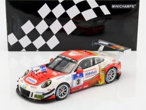 Porsche 911 (991) GT3 R #3 24h Nürburgring 2016 Frikadelli Racing Team 1:18 Minichamps