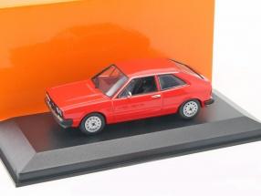 Volkswagen VW Scirocco Baujahr 1974 rot 1:43 Minichamps